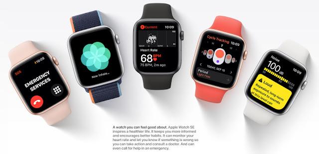 Apple Watch SE inspires a healthier life