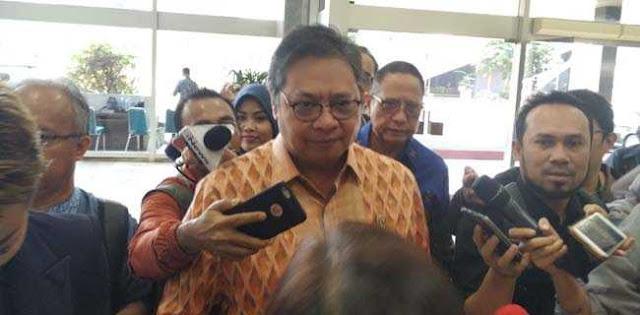 Airlangga Bantah Pernah Temui Megawati Bahas Revisi UU KPK