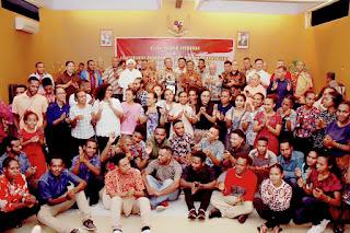 Silaturahmi Pangdam XII/Tpr Bersama Forkopimda, Todat, Tomas, Mahasiswa dan Masyarakat Papua Wilayah Kalbar