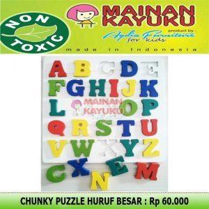 Chunky Puzzle Huruf APE TK