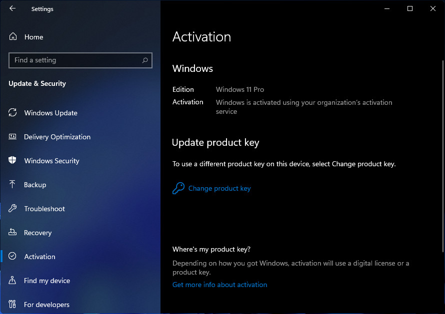 Windows 11 Aktivasyonu