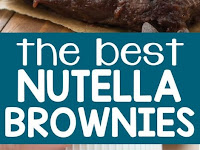 THE BEST NUTELLA BROWNIES