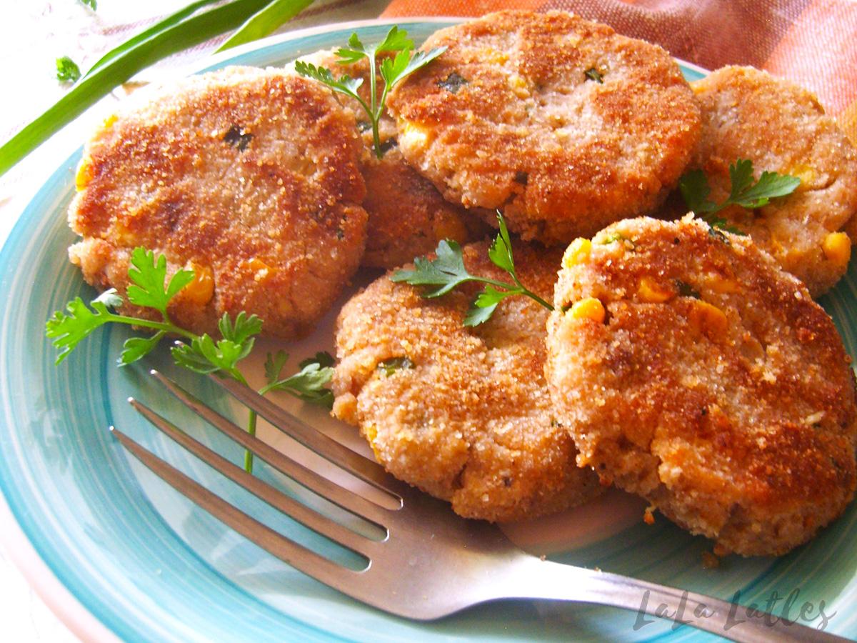 Картофельные котлеты с тунцом