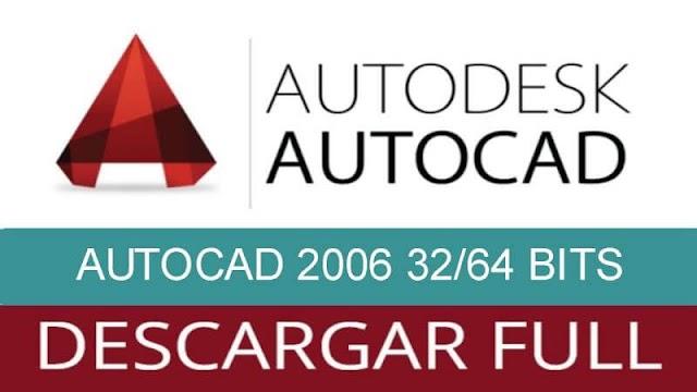Descargar e Instalar AUTOCAD 2006 32/64 BITS INGLES | MEGA Y MEDIAFIRE