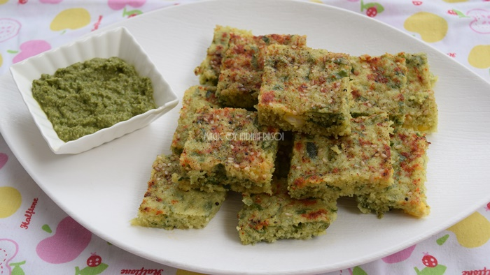 Palak Corn Dhokla Recipe | Healthy Moong Dal & Spinach Dhokla for kids  - Magic of Indian Rasoi - Priya R