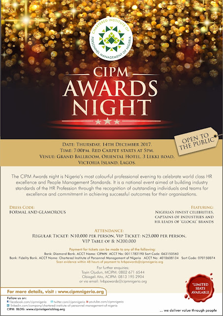 CIPM Awards Night 2017