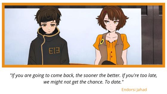 """Tower of God """"Bam and Endorsi"""""""