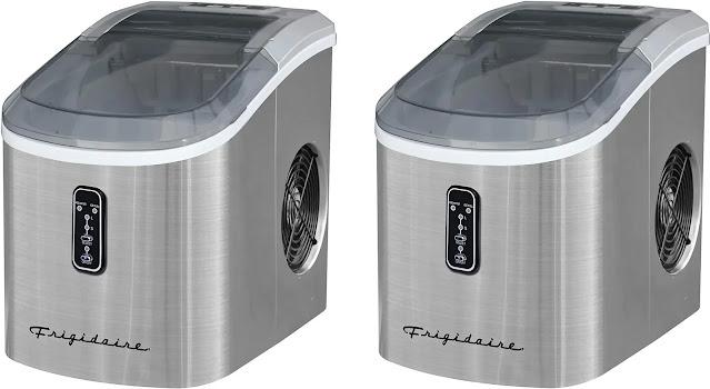 9. Frigidaire EFIC103 Machine Ice make Stainless