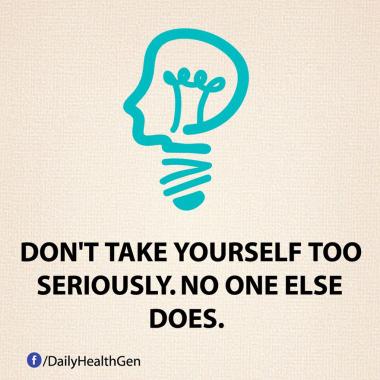 Jangan Membuat Diri Sendiri Terlalu Serius (Identitas.net)