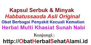 khasiat kapsul minyak/serbuk habbatussauda asli untuk kesehatan tubuh