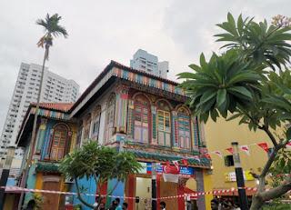 Barrio Indio o Little India, Singapur. Tang Teng Niah House.