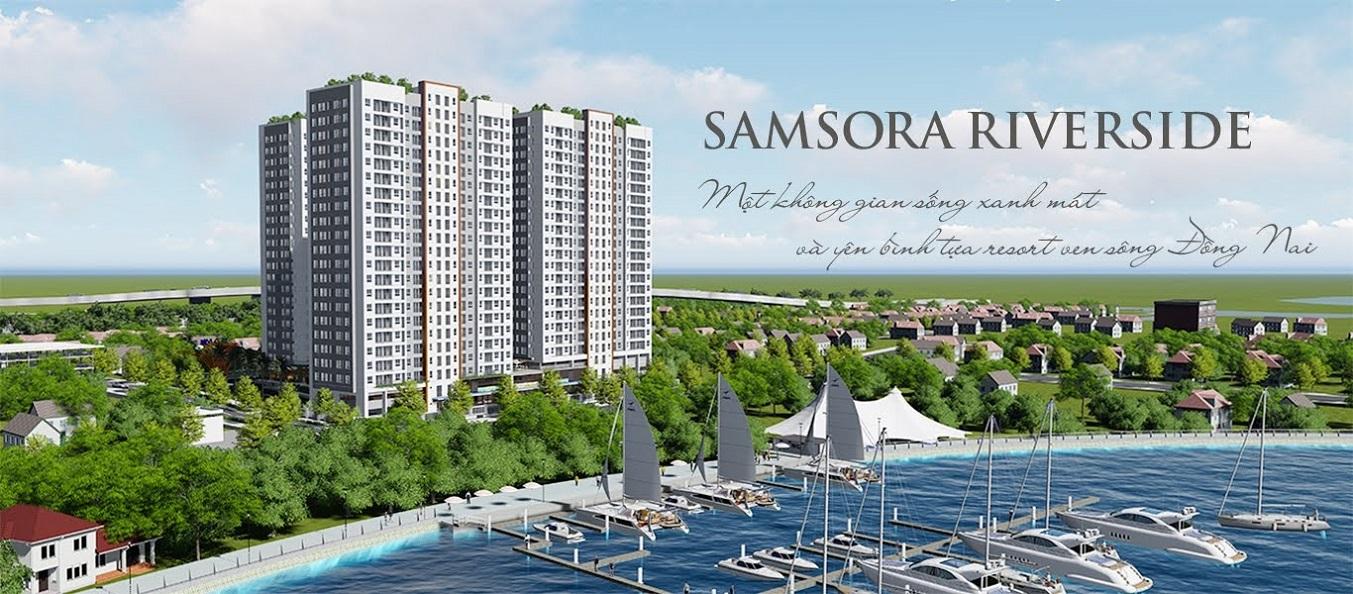Samsora Riverside Đất Xanh Premium - Căn hộ tiện ích dự án Samsora Riverside tại Dĩ An