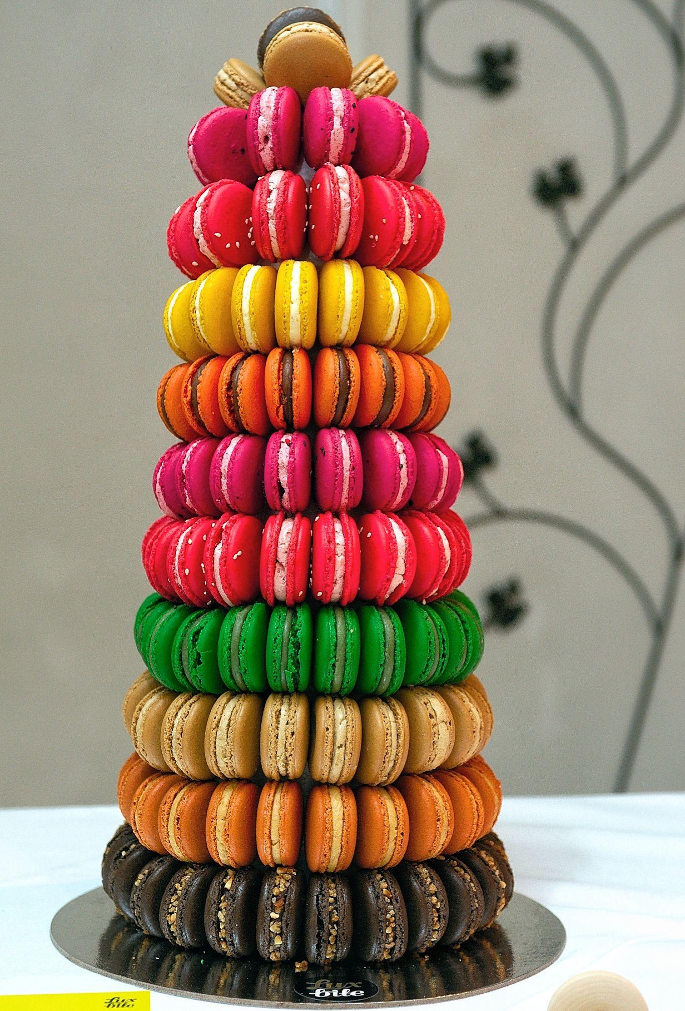varios colores y sabores