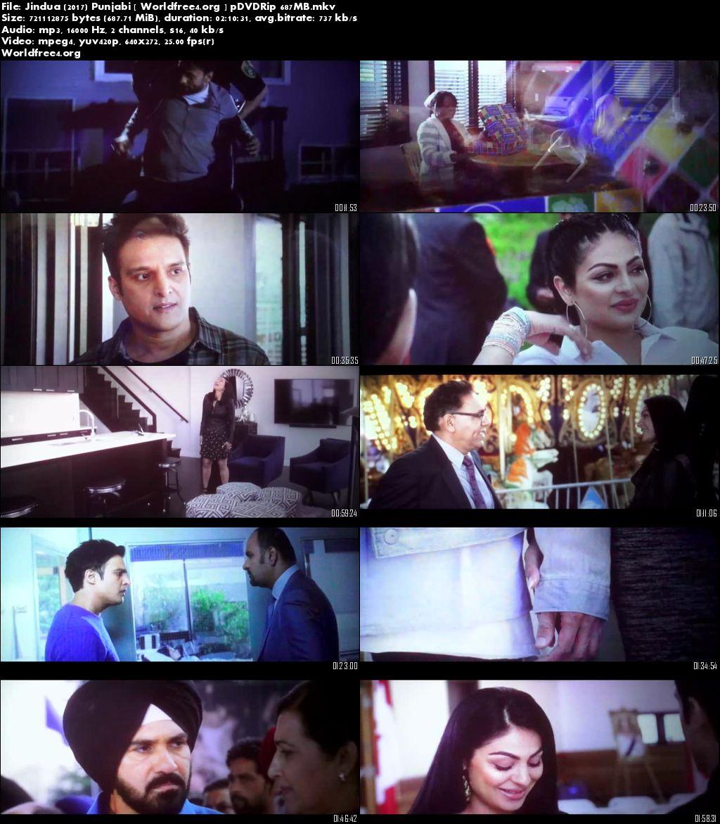 Jindua 2017 pDVDRip 700Mb Punjabi Movie Download