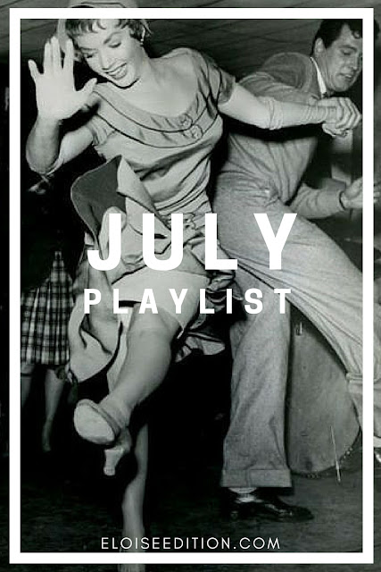 July Playlist Cover from Eloise Edition