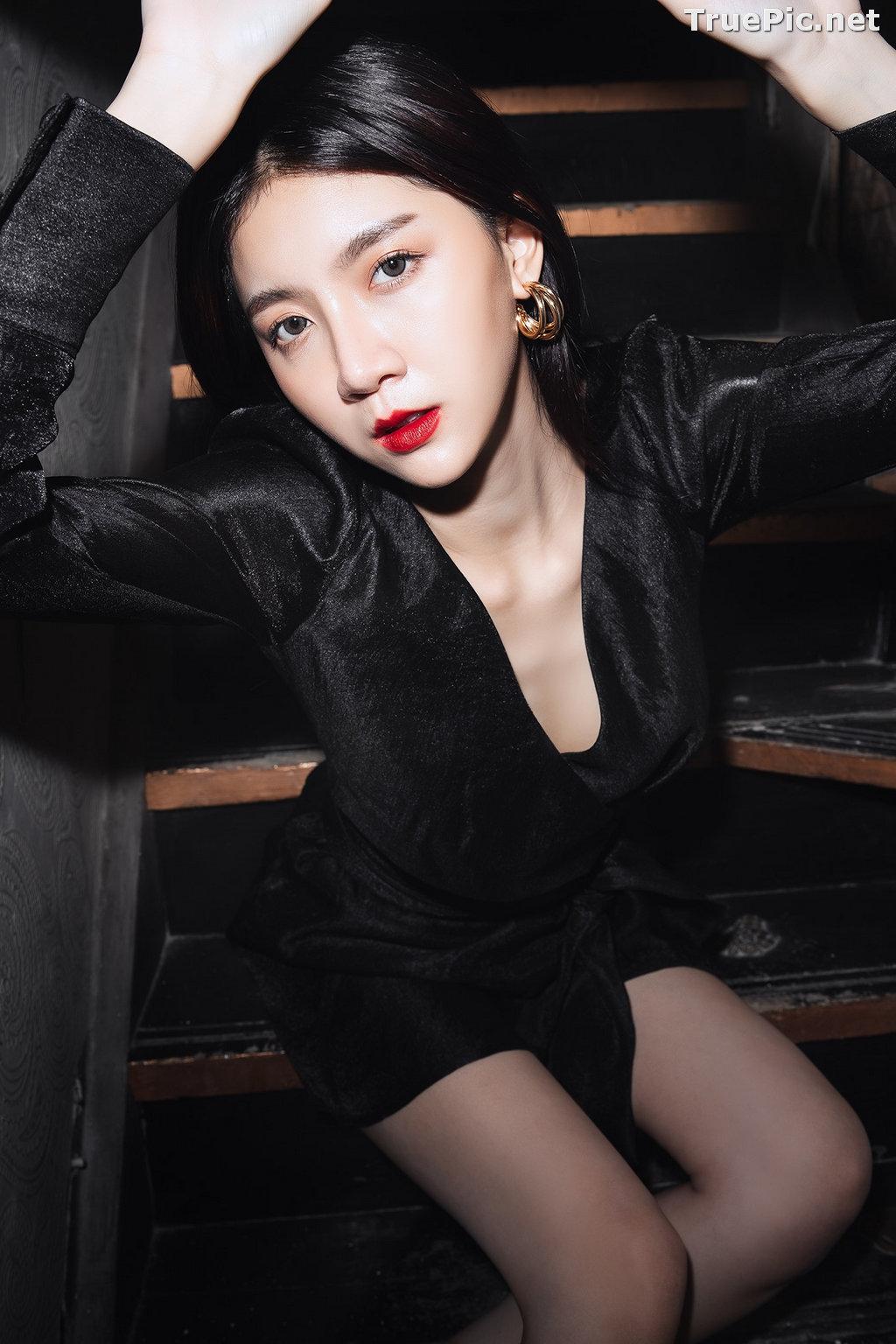 Image Thailand Model - Sasi Ngiunwan - Black For SiamNight - TruePic.net - Picture-20