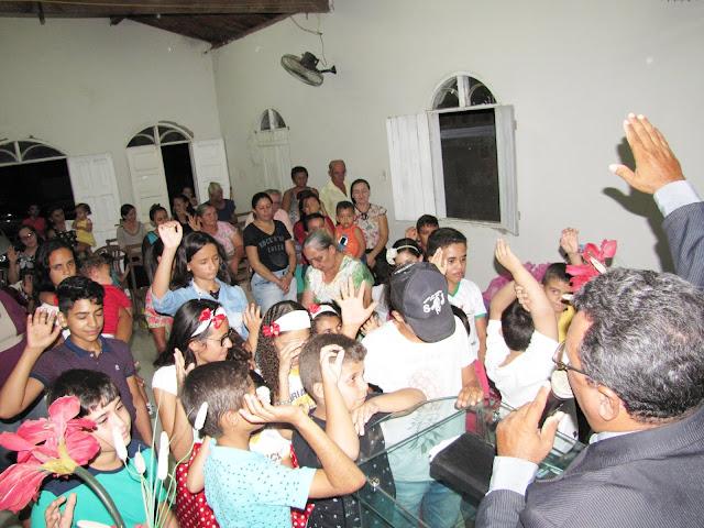 Igreja Assembléia de Deus Congregação sitio Timbaúba, realizou evento em comemoração ao dia das crianças