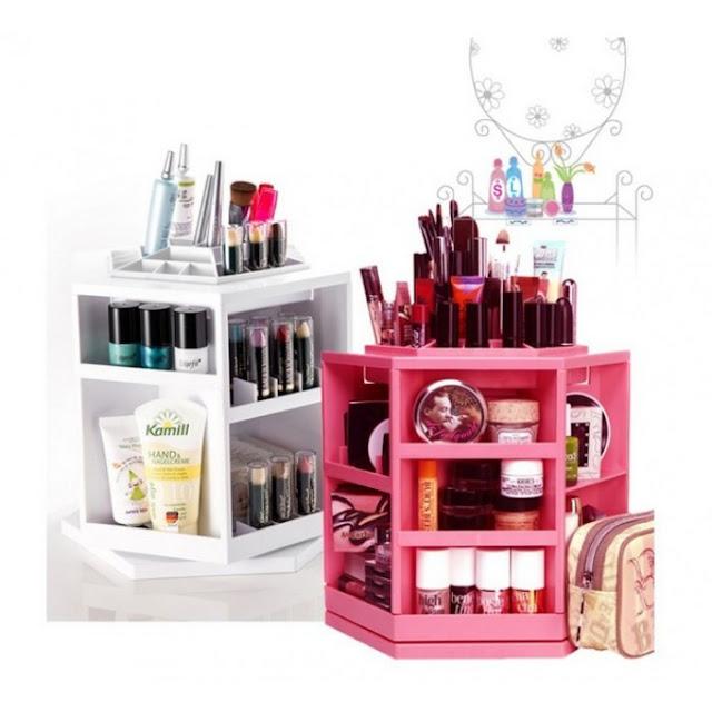 makeup organiser berputar, beli makeup organiser online, gracias online store
