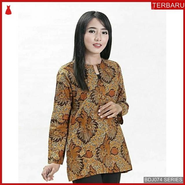 BDJ74B46 Blouse Batik 0048 Terbaru BMGShop