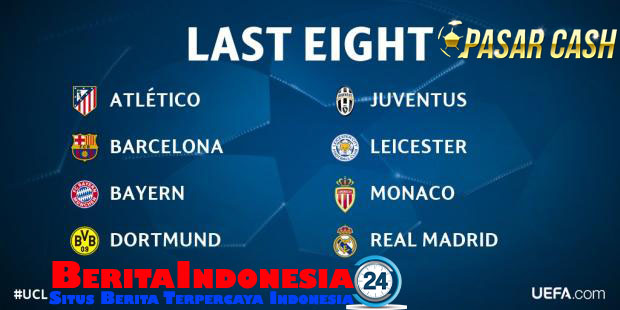 Liga Champions : Real Madrid vs Bayern Munich, Juventus vs Barcelona