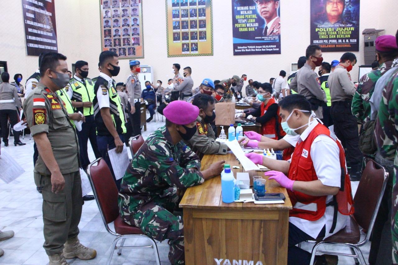 Donor Darah: Polda Lampung Memperingati Hari Bhayangkara ke 74