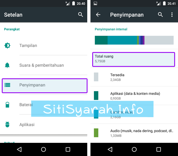 Solusi Android Lemot