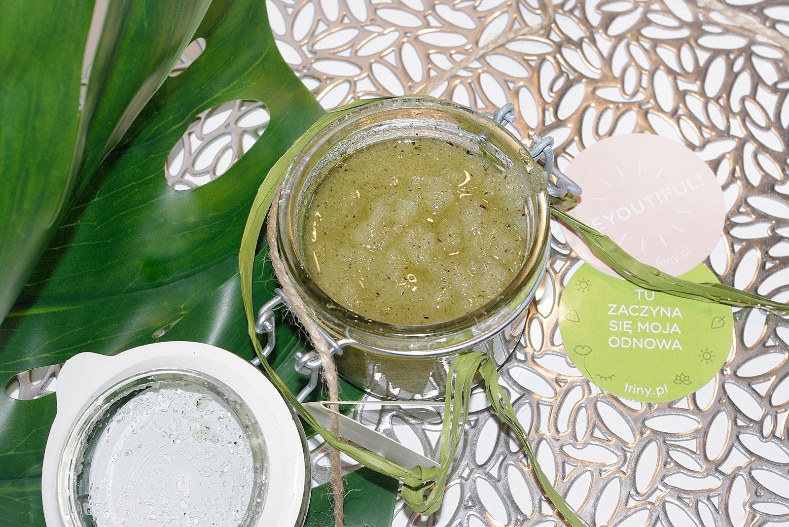 Peeling Cukrowy Orzeźwiający Melon z Zieloną Herbatą Natural secrets