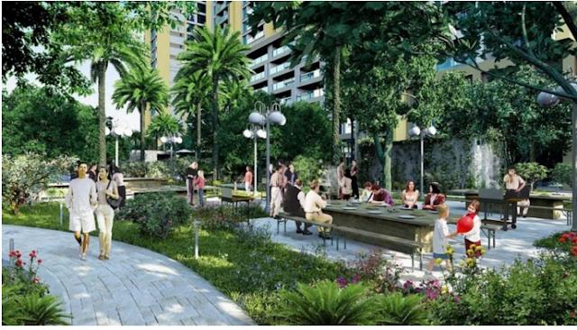 Không gian sống xanh chung cư Hinode City
