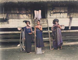 wanita batak karo di hutapinang