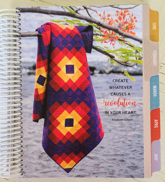 Quilt photos in the Quilter's Planner