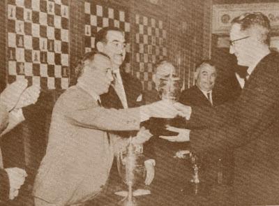 Francisco José Pérez Pérez, Campeón de España de Ajedrez 1960