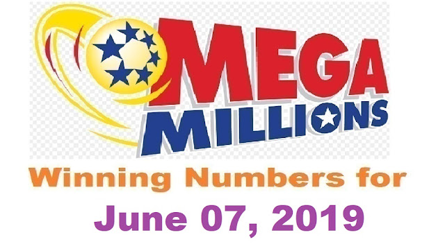 Mega Millions Winning Numbers for Friday, June 07, 2019