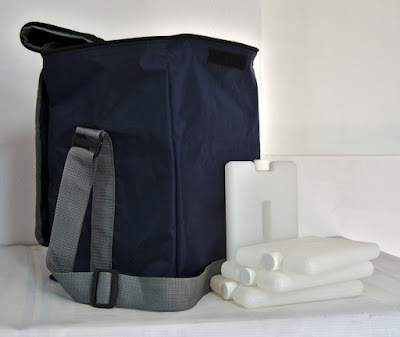termo kst con mochila ice packs para conservacion de vacunas