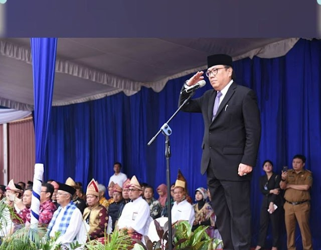 Sekda Nasrun Umar Irup Hari Bhakti PU