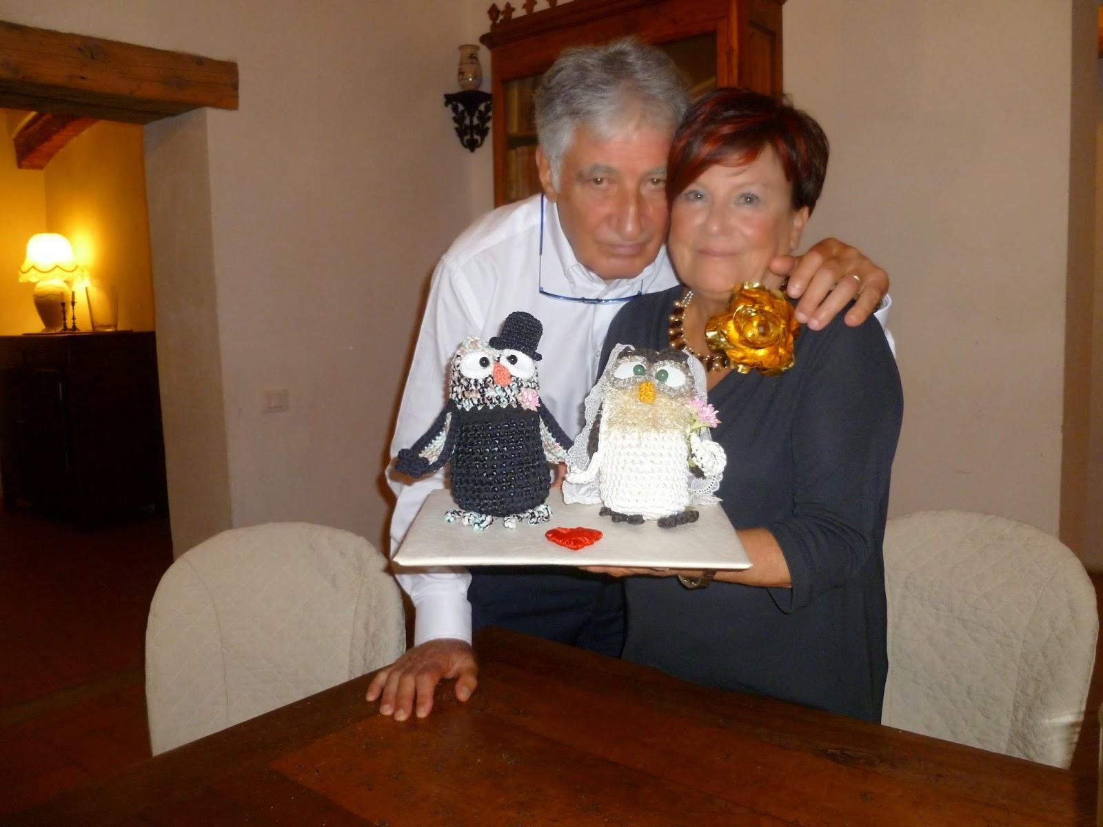 Ben noto Knittiamo con Martina e Roberta: W GLI SPOSI - 50° ANNIVERSARIO DI  VS66