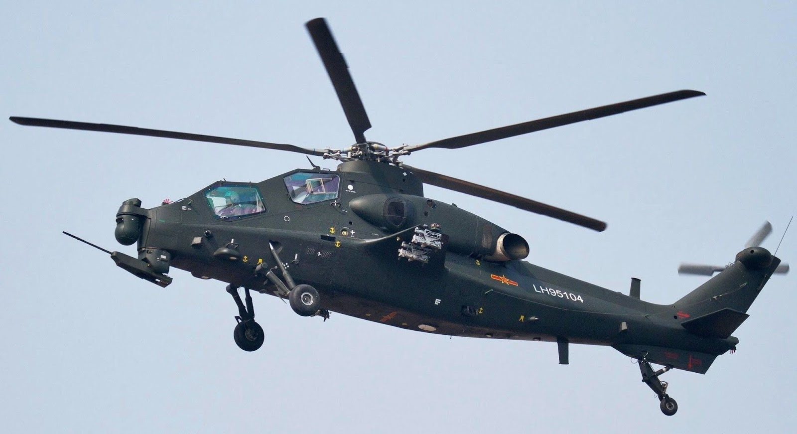 China Delivers WZ-10 Attack Helicopters To Army
