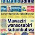 soma vichwa vya habari vilivyopewa kipaumbele kwenye magazeti ya jumatano tar 9 machi.