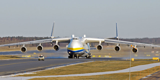 The world's largest plane landed in Australia for the first time