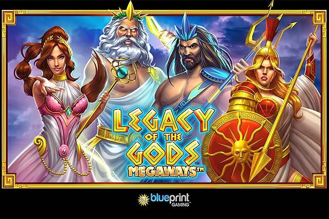 ULASAN SLOT BLUEPRINT GAMING LEGACY OF THE GODS MEGAWAYS