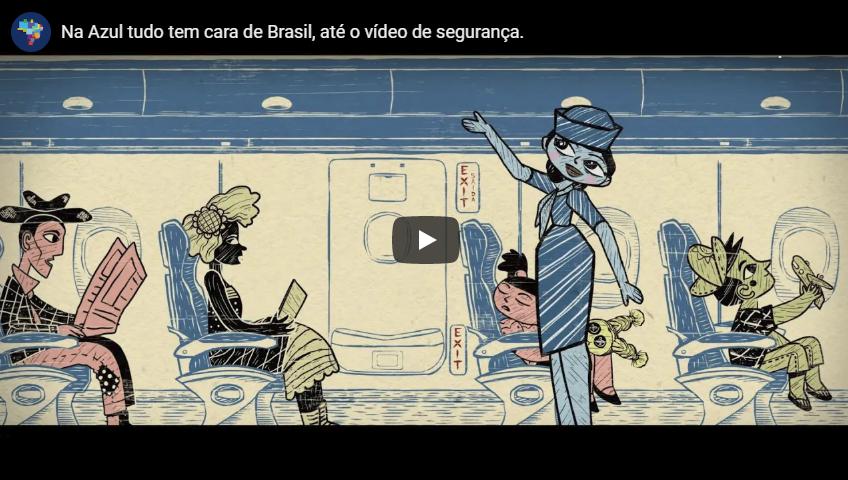 Azul lança novo vídeo de segurança a bordo (speech) – Assista!