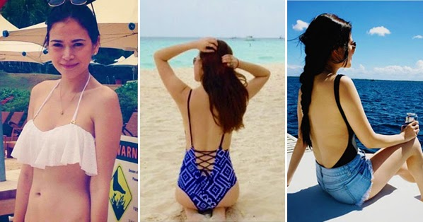 LOOK Bela Padilla As She Sizzles In Her Bikinis On The Beach