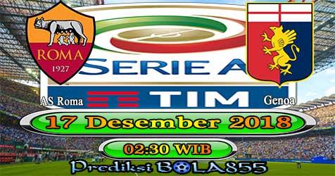 Prediksi Bola855 AS Roma vs Genoa 17 Desember 2018