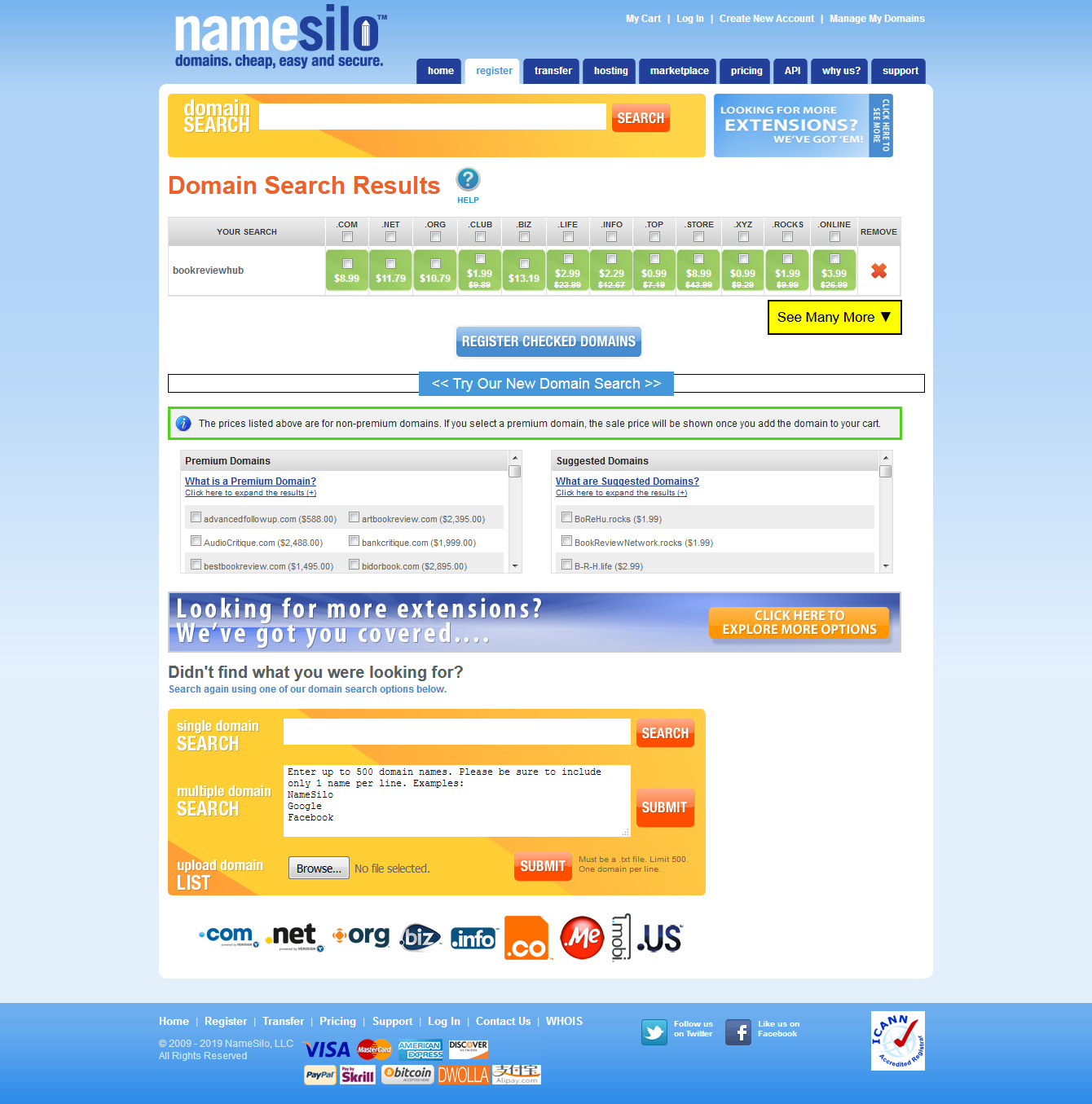 How to Make Money Online: How to Register a Domain Name ...