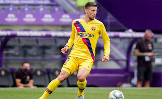 Setien Gives a positive update on Lenglet injury