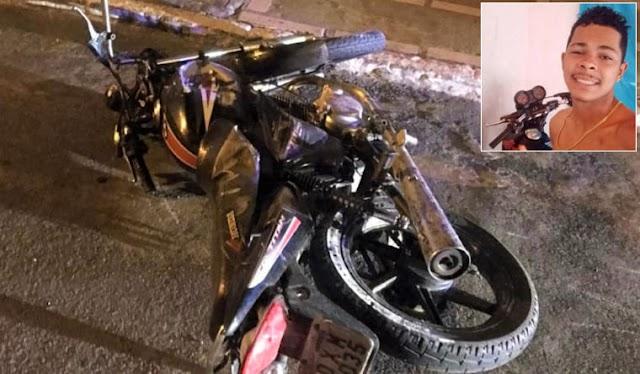 Jovem morre em grave acidente de moto na Chapada Diamantina