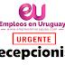 URGENTE Recepcionista - Salario nominal $ 26.623 .