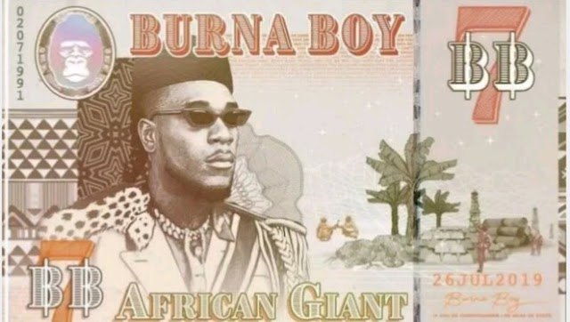"Burna Boy's ""African Giant"" album makes Billboard top 50 best albums of 2019 (Full List)"