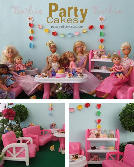 """barbie"" ""cakes"" ""miniatures"" ""vintage"" ""coleccionismo"" ""muebles"""