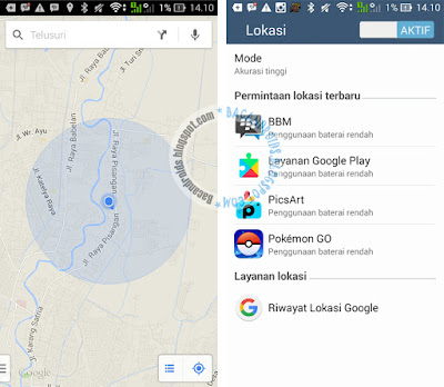 settingan lengkap Pokemon GO untuk asus Zenfone