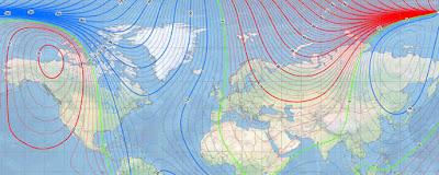 modelo do norte magnetico 2020